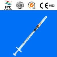 Buy cheap High contrast black scale line syringes 1ml from wholesalers