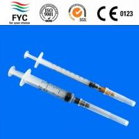 Buy cheap Fine milliliters of syringes for injection from wholesalers