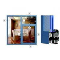 Buy cheap 55 series of energy-saving insulation within the open window structure (wear) NW-55-03-02-02-02 from wholesalers