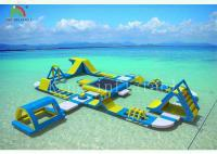 Buy cheap Giant inflatable floating water park AX-01-024 from wholesalers
