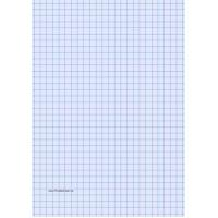 Buy cheap Printable Graph Paper - Light Blue - Three Quarter Inch Grid - A4 from wholesalers