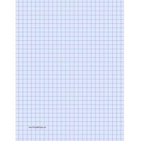 Buy cheap Printable Graph Paper - Light Blue - Three Quarter Inch Grid from wholesalers