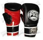 Buy cheap Pro Boxing Classic Bag Gloves - Black/Red from wholesalers