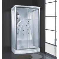 Buy cheap Nice bathroom design 2 person wet sauna room outdoor steam room with bathing AD-937 from wholesalers