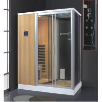 Buy cheap Sauna shower combination findland wood steam bathroom steam shower sauna combos AD-944 from wholesalers
