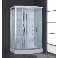 Buy cheap Foshan factory supply cheap white acrylic double wet sauna steam room prices with shower AD-938 from wholesalers