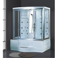 Buy cheap China sale diamond shaped sauna rooms far infrared dry and wet steam room acrylic shower from wholesalers