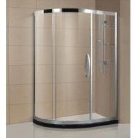 Buy cheap Custom one person bathroom sliding door shower cabin with man made stone AD-312 from wholesalers
