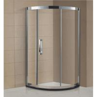 Buy cheap Luxury bathroom design stainless steel frame shower enclosure cubicle with glass layer shelf AD-316 from wholesalers