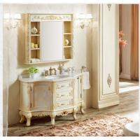 Buy cheap American Top Style Thailand Oak Cabinet Bathroom storage cabinet with free design from wholesalers