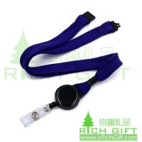 Buy cheap Personalized retractable pull reel lanyards,custom clear ID badge reel holder from wholesalers