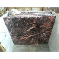Cuckoo Red Marble Polished Tiles for sale
