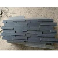 Black Basalt Cultured Stone Wall Decoration Tiles for sale