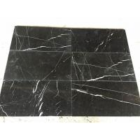 Nero Marquina Marlbe Glossy Floor And Wall Tiles for sale