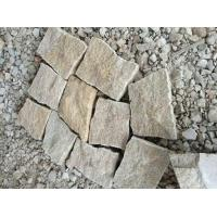 Rustic Yellow Granite G682 Random Pavers for sale