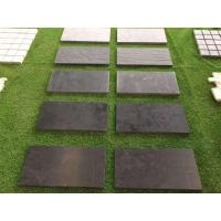 China Dark Limestone Honed Tiles Flooring Wall Covering for sale