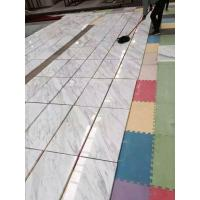 Volakas White Marble Polished Flooring And Wall Tiles for sale
