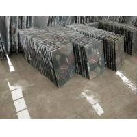 Rainbow Colorful Granite Leathered Flooring And Wall Tiles for sale