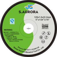 Buy cheap China Low Price 5 Inches 125*1*22mm Resin EN12413 Cutting Discs For Metal from wholesalers