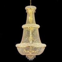 Buy cheap Golden Luxury Empire Crystal Chandelier from wholesalers