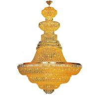 Buy cheap large crystal chandelier pendant lighting for hotel from wholesalers