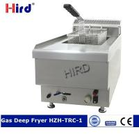 Buy cheap Gas Deep Fryer Commercial counter top fryer for stainless st from wholesalers