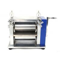 Buy cheap Manual Lab Roller Press Calendering Machine for Lithium ion Battery Electrode from wholesalers