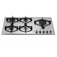 Wholesale Built-in 90cm 5 burners gas stove/gas cooking hob/tempered glass gas cooktop from china suppliers