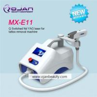 Buy cheap MX-E11 Color Touch Screen Portable Q Switch ND YAG laser tattoo removal machine from wholesalers