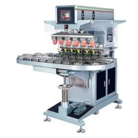 China automatic ink cup conveyor 6-color pad printer for sale