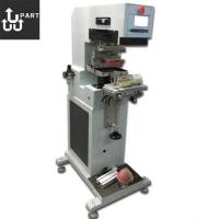 China semi auto inkwell 1 color pad printing machine for bottle for sale