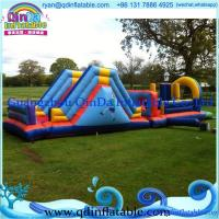 China Hot new inflatable slide bouncer combo inflatable playground equipment on sale