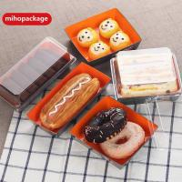 Buy cheap Sushi Paper Tray with Plastic Lid from wholesalers