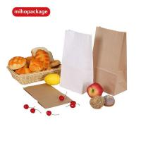 Buy cheap Competitive Price Kraft Paper Bags For Food Without Logo from wholesalers