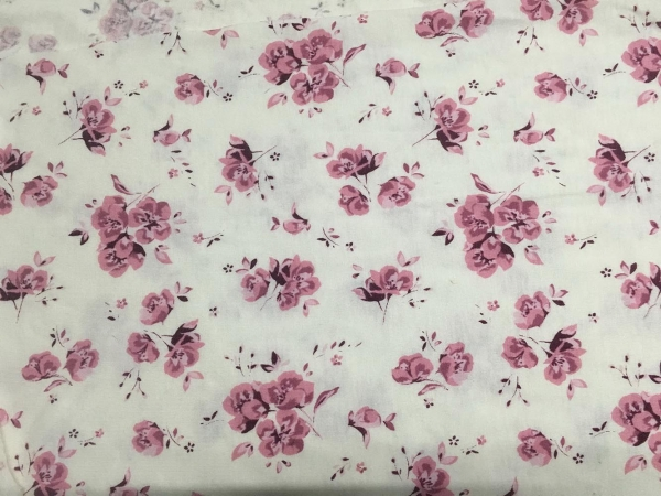 Quality Cotton Flower Printed Single Jersey for sale