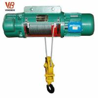 Buy cheap Produce Purchase CD1 Single Lift Speed Wire Rope Electric Hoist Quotes from wholesalers